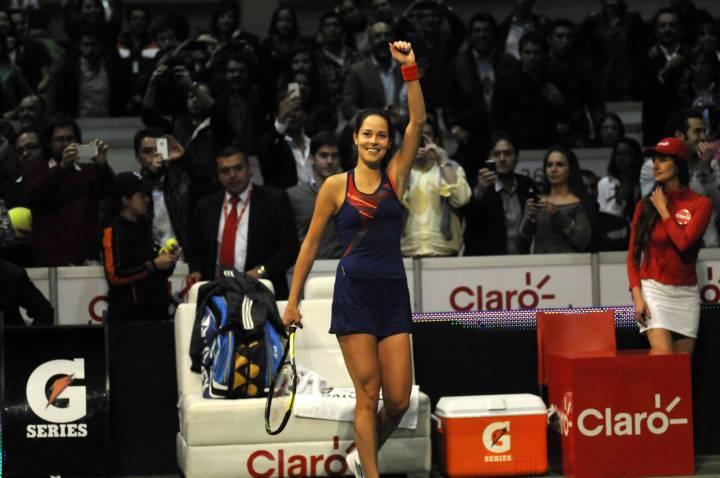Ana Ivanovic venció a María  Sharapova  en el Master Claro en Bogotá.