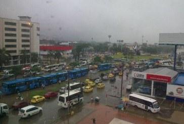 Fuertes lluvias azotaron al Valle del Cauca