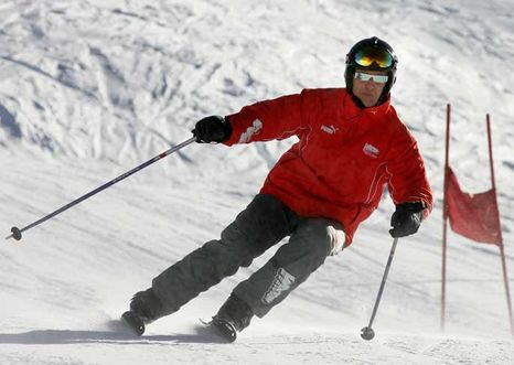 Schumacher aún en coma tras accidente en Alpes franceses