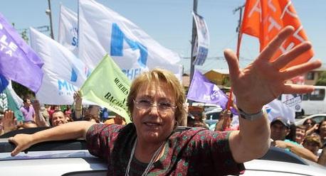 Chile reeligió a Michelle Bachelet como su presidenta