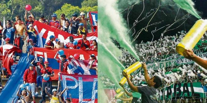 La violencia de las barras bravas deja un hincha muerto en Medellín