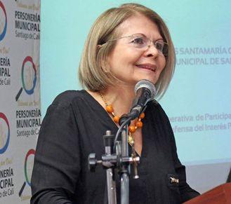 """""""No sé por qué el Secretario de Tránsito dice eso"""":Carmen Elvira Ospina"""