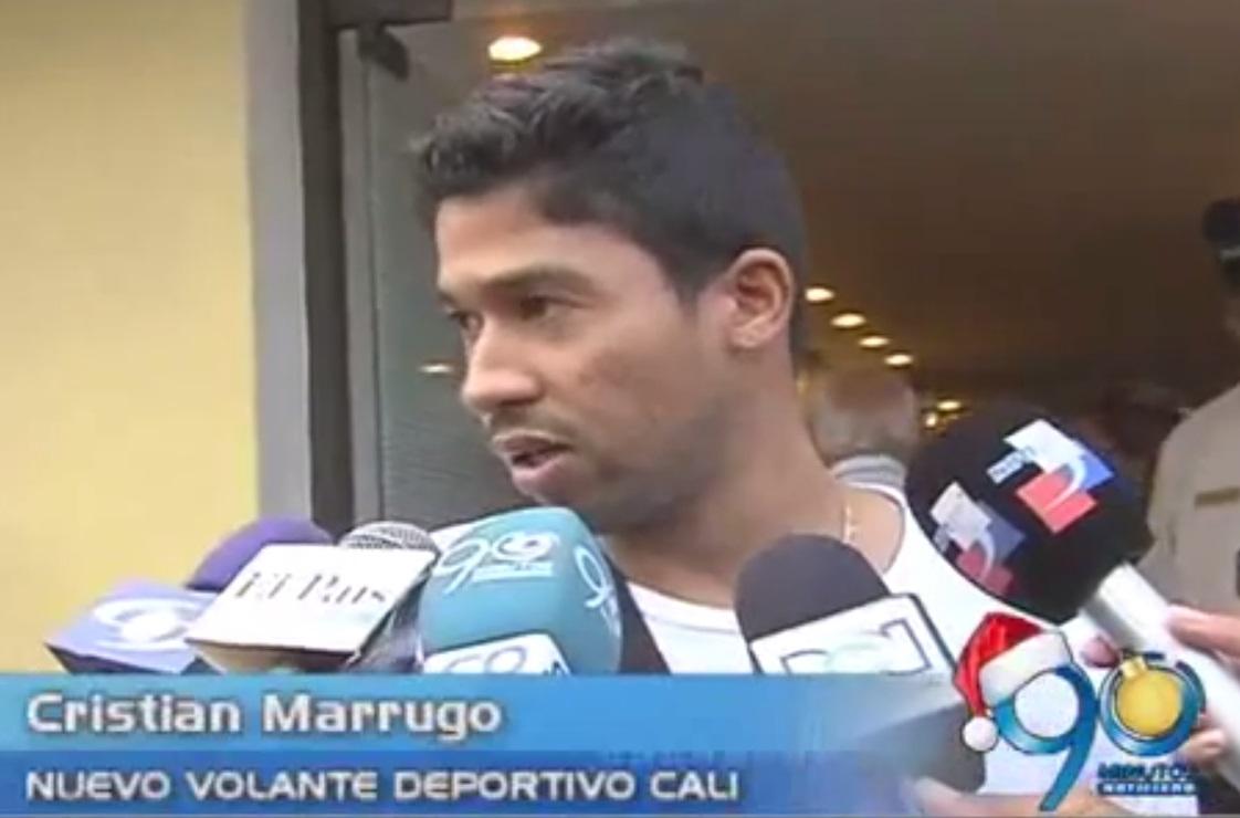Cristian Marrugo ya está firme con el equipo azucarero