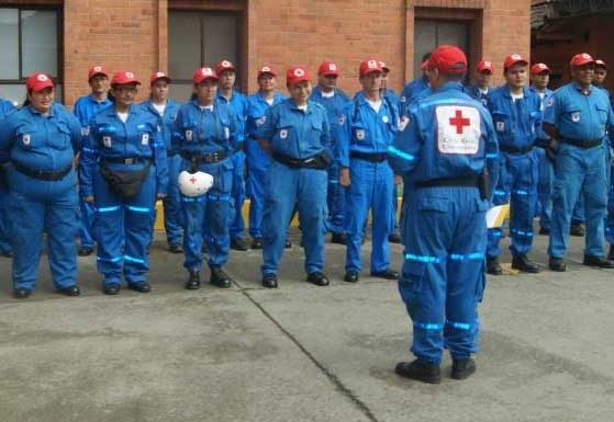 Cruz Roja el ángel de la guarda de la  Feria de Cali
