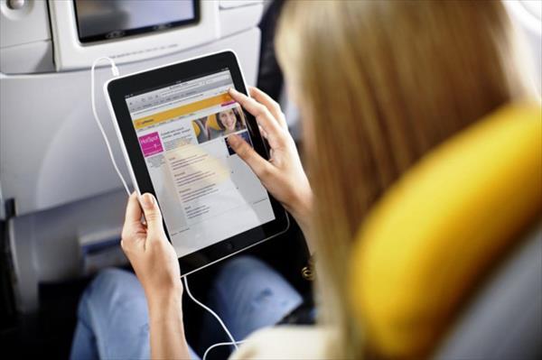 Autorizado el uso de aparatos electrónicos durante todo el vuelo