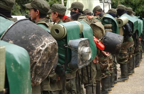 Farc sigue  reclutando niños para la guerra