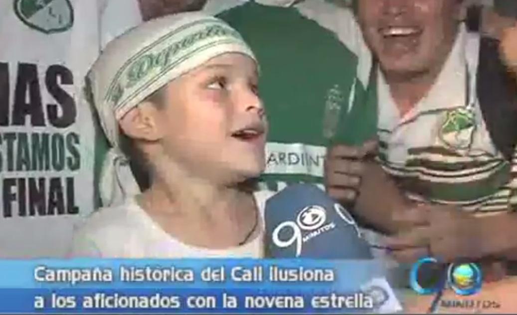 Los hinchas del equipo azucarero celebran triunfo ante Millonarios
