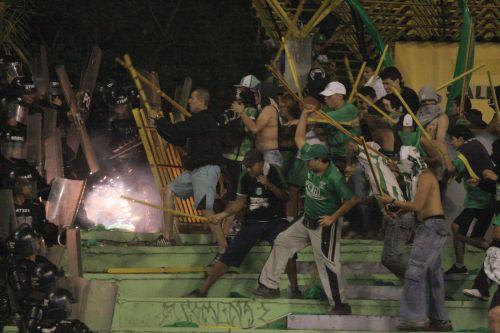 La pasión por el fútbol no puede ser la excusa de los violentos