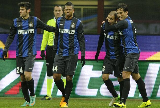 El Inter de Guarín venció 1-0 al Milán de Zapata