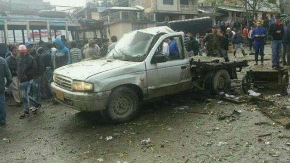 Ataque de las Farc deja 9 personas muertas en Inzá, Cauca.