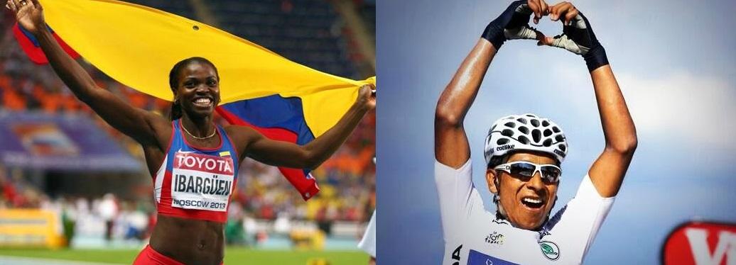 Caterine Ibargüen y Nairo Quintana considerados los mejores deportistas del año
