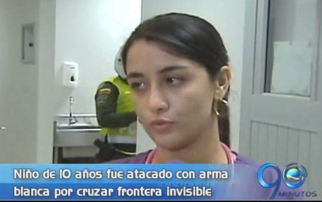 Un menor de 10 años fue atacado por cruzar 'frontera invisible'