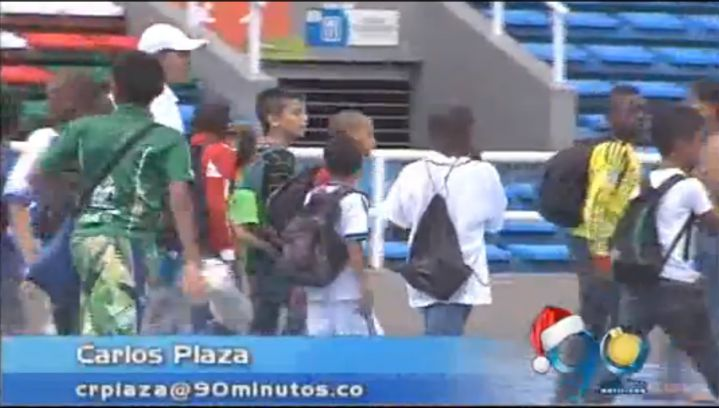 Fundación Real Madrid examinó a 500 niños en el Pascual Guerrero