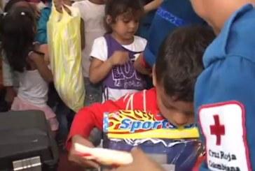 Los regalos de navidad llegaron a 2786 niños colombianos