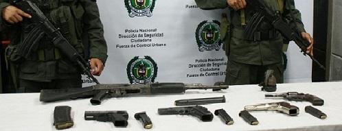 Se suspenden temporalmente permisos para el porte de armas en la ciudad