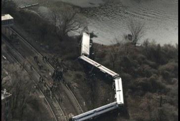 Descarrilamiento de tren en New York deja cuatro muertos