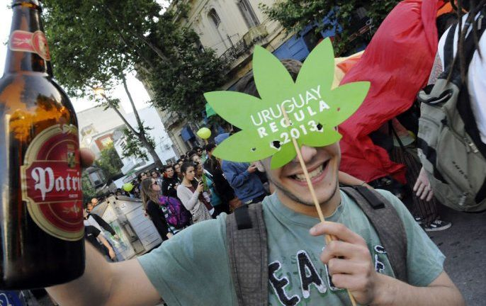 Uruguay le dice sí a la legalización de la marihuana