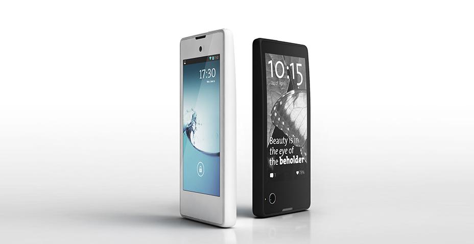 Yotaphone: El nuevo smarthphone de dos pantallas