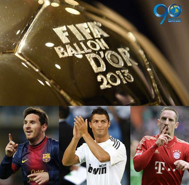 Este lunes se conocerá el ganador del Balón de Oro de la FIFA