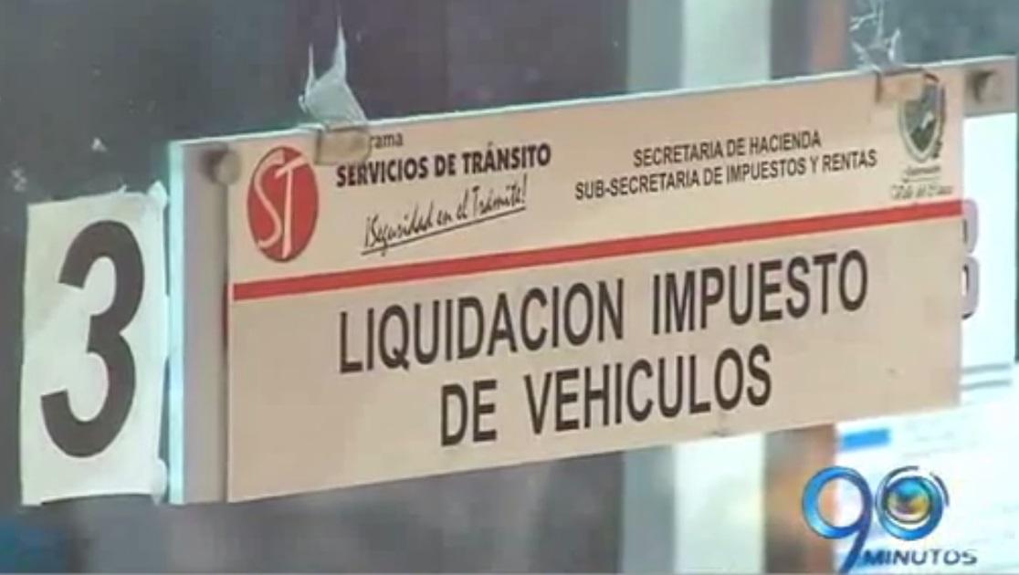 Contraloría del Valle investiga inconsistencias en cobro del impuesto automotor