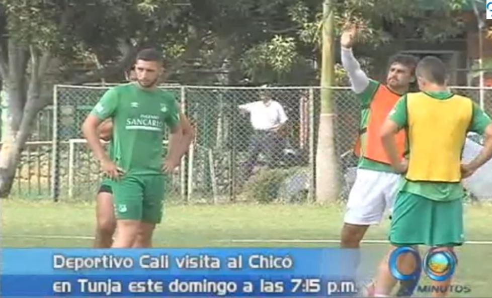 Deportivo Cali viaja para enfrentar a Chicó en la altura de Tunja