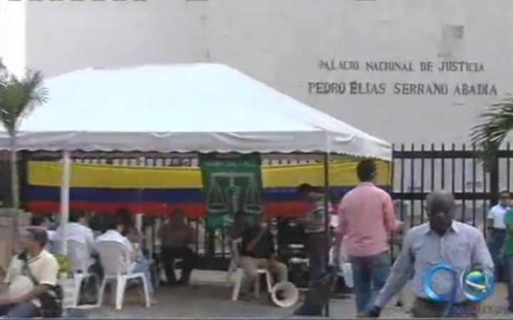 Asonal Judicial y el CSJ enfrentados por la entrega del Palacio de Justicia