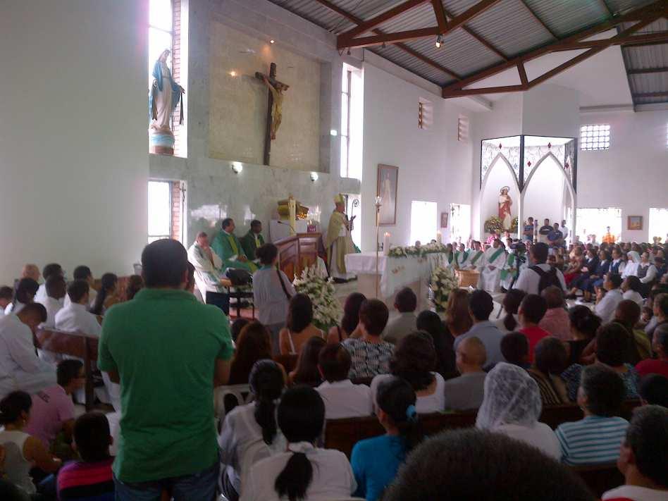 Dos muertos deja el tiroteo en una iglesia al oriente de Cali