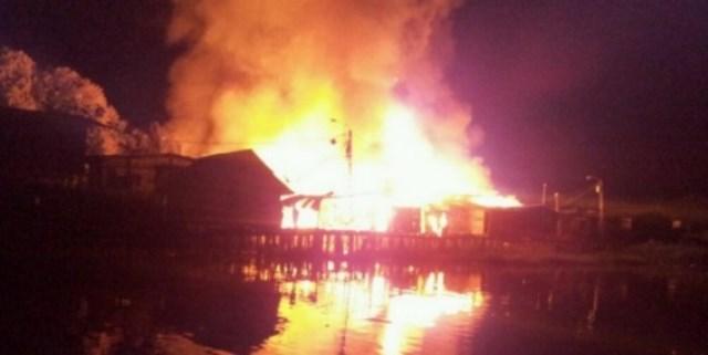 40 viviendas afectadas por incendio en Quibdó