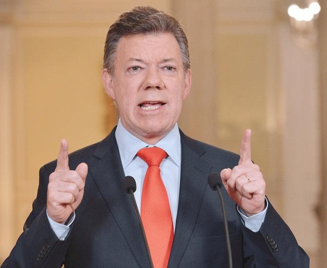 Santos calificó como una torpeza el atentado de Pradera, Valle