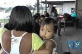 Niños indígenas de Litoral del San Juan, Chocó, están viviendo una emergencia sanitaria