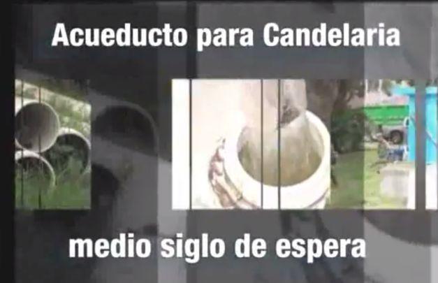 Acueducto para Candelaria, medio siglo de espera