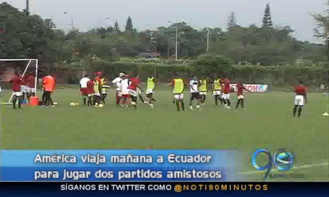 América jugará dos partidos amistosos en Ecuador