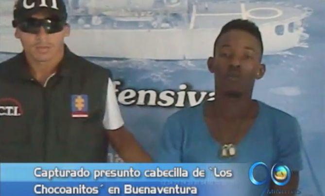 Capturado cabecilla de 'Los chocoanitos' en Buenaventura