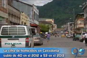 Autoridades de Caicedonia preocupadas por homicidios