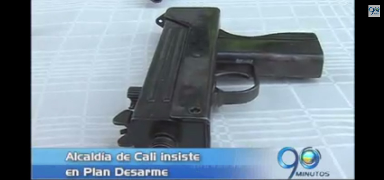 Alcaldía de Cali insiste en el Plan Desarme