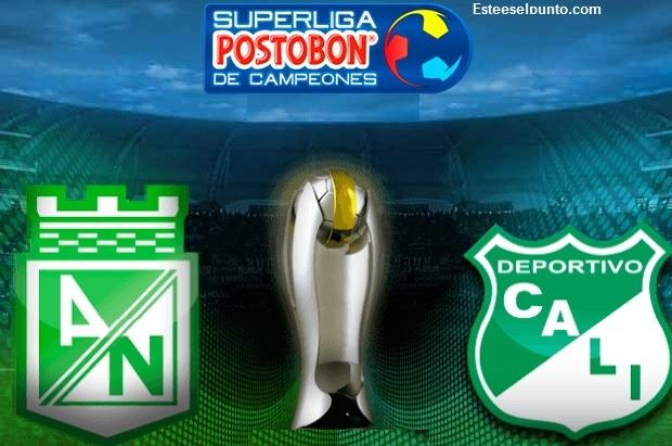 Deportivo Cali gana 2-1 en partido de ida de la Superliga