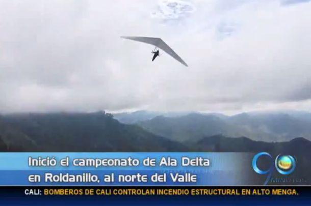 Inicia campeonato de Ala Delta en Roldanillo, al norte del Valle