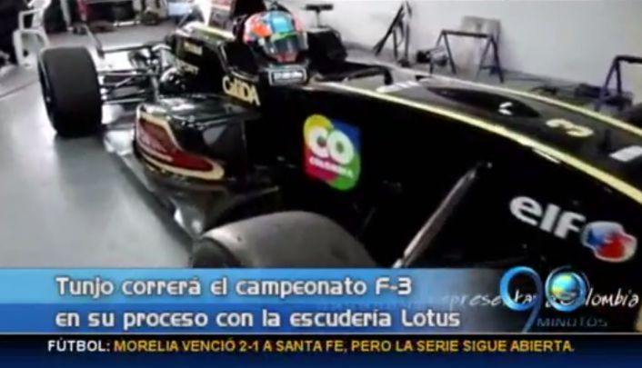 Óscar Tunja se prepara para la temporada de la Fórmula 3