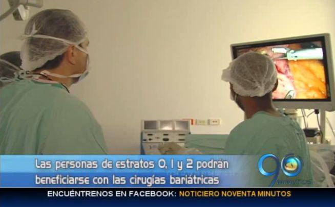 Cirugías bariátricas gratuitas para pacientes de bajos recursos