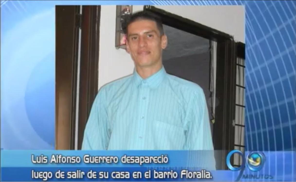 Joven se encuentra desaparecido desde hace tres semanas