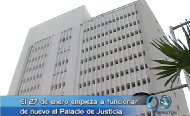 Inició trasteo de los despachos jucidiales a la torre B del Palacio de Justicia