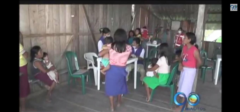 Niños indígenas del Litoral San Juan, Chocó, están en emergencia sanitaria