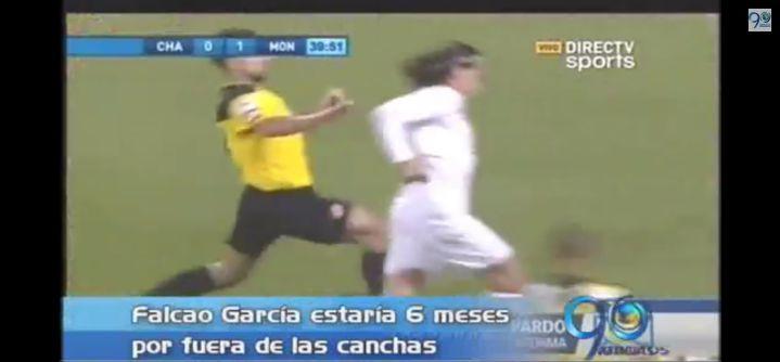 Falcao García no iría al Mundial Brasil 2014 por lesión en su pierna izquierda