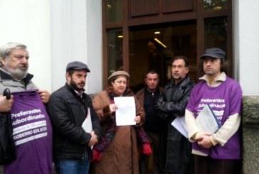 Federación Galiza presenta mil firmas a favor de la cultura