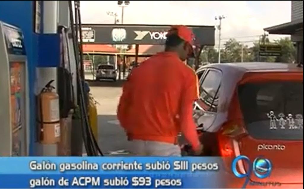 Así quedó el precio de la gasolina para este 2014