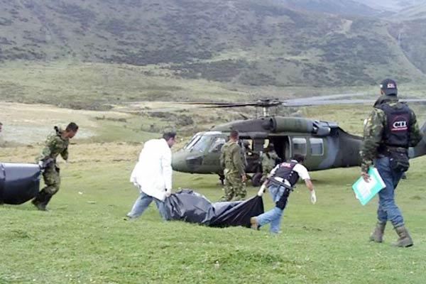Mueren siete guerrilleros que militaban en las Farc