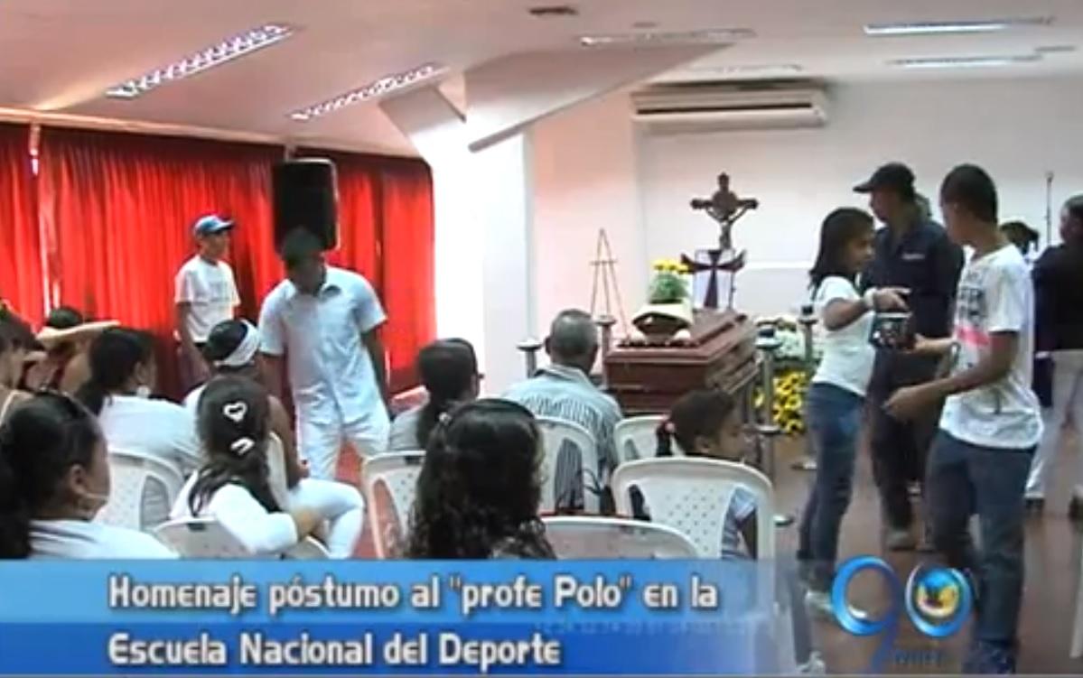 Homenaje al profe 'Polo' en la Escuela Nacional del Deporte
