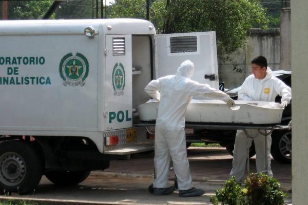 El cuerpo de un hombre sin vida fue encontrado en Jamundí