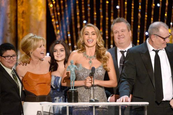 Sofía Vergara y Modern Family, ganadores en los SAG