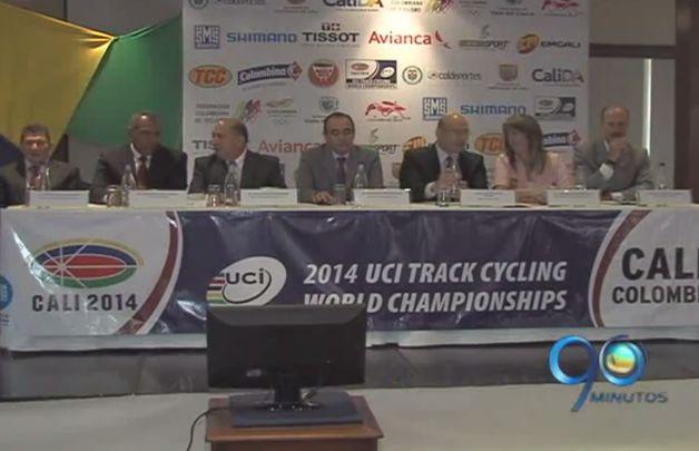 Cali presentó anoche el Mundial de Ciclismo de pista 2014
